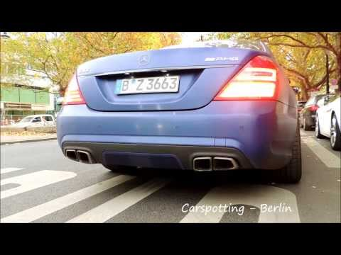 Purple S63 Hard Reving And Acelleration