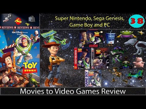 Movies to Video Games Review -- Toy Story (SNES. Genesis. Game Boy & PC)