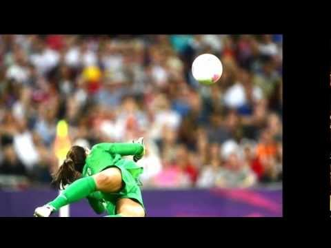 Hope Solo-Saves,Blocks,and more-In For The Thrill