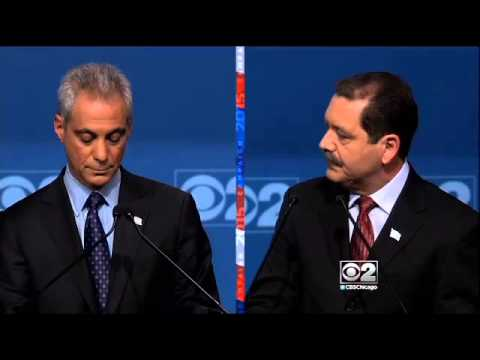 Chicago Mayoral Debate Final Debate 2015 Tuesday Feb 10