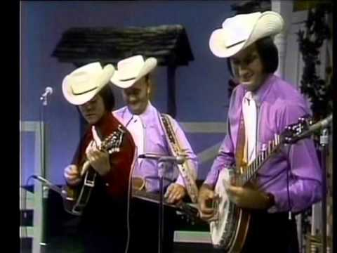 Lester Flatt and The Nashville Grass with a young Marty Stuart