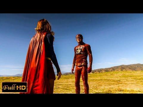 Флэш и Супергёрл. Первое Знавомство | Full HD