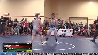 14U 125 Nickolas Graydon Washington Vs Scott Michael Alaska