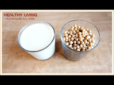 How to Make soy milk at home 傳統豆漿製作 Josephine's Recipes ...