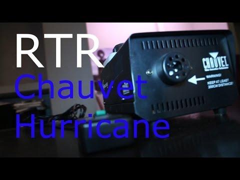 chauvet fog machine repair