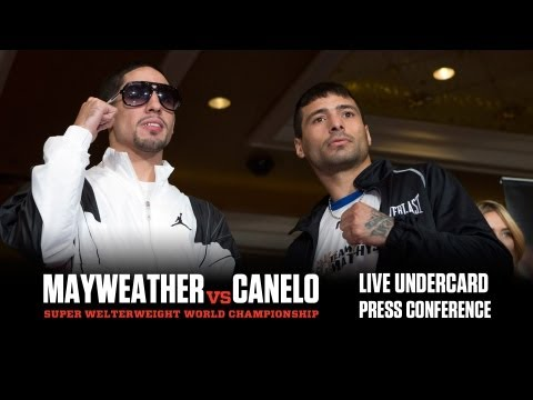 Danny Garcia vs. Lucas Matthysse - Undercard Press Conference - SHOWTIME