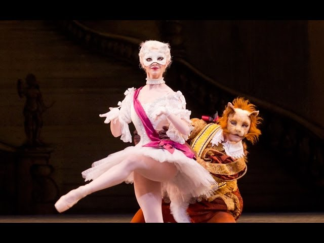 The Sleeping Beauty Puss-in-Boots and White Cat pas de deux (The Royal Ballet)
