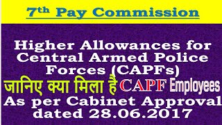 download lagu Capf Allowances As Per Cabinet Approval_7th Pay Commission केंद्रीय gratis
