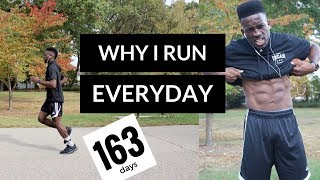 why I run everyday   running everyday for a year   train vegan