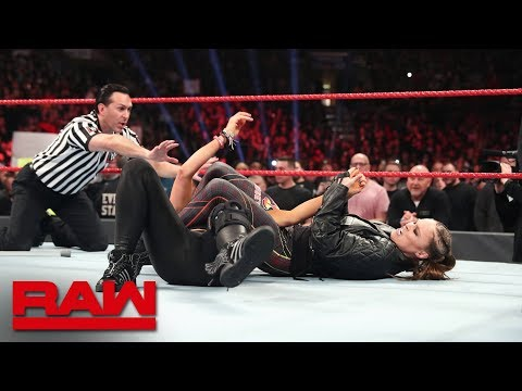 Ronda Rousey unleashes on Becky Lynch: Raw, March 4, 2019
