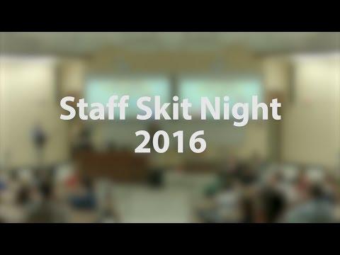 Staff Skit Night | SIL-UND 2016