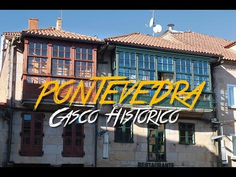 🇪🇸 CASCO HISTORICO - PONTEVEDRA - GALICIA - ESPAÑA #25 - 2017 - Vlog, Turismo, Documental