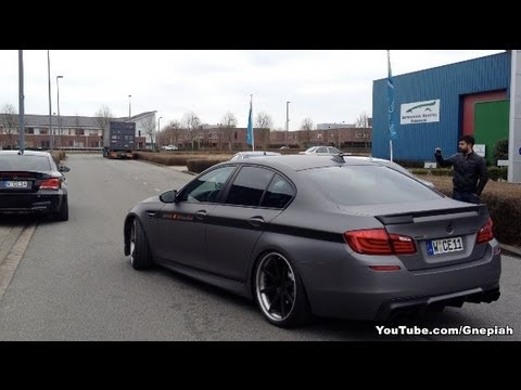 BMW M5 F10 710HP! - World's fastest M5 by Manhart Racing