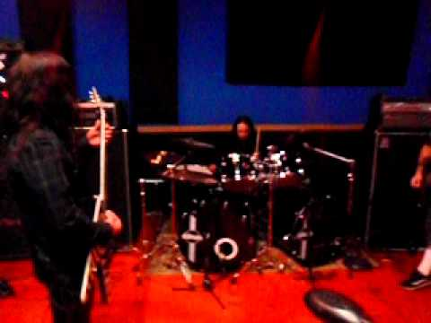 Dimebash 2010 A New Level Rehearsals Phil Demmel Joey Jordison Rob Flynn Tony Campos