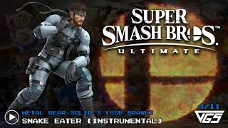 All Metal Gear Solid Songs Super Smash Bros Ultimate Ost 11 Tracks