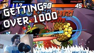Fruit Ninja Fight - Androlikos goes for 1,000 points
