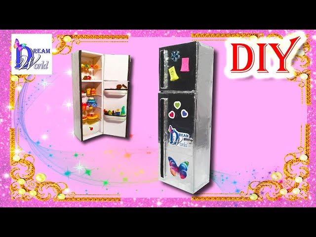 Как сделать холодильник для кукол