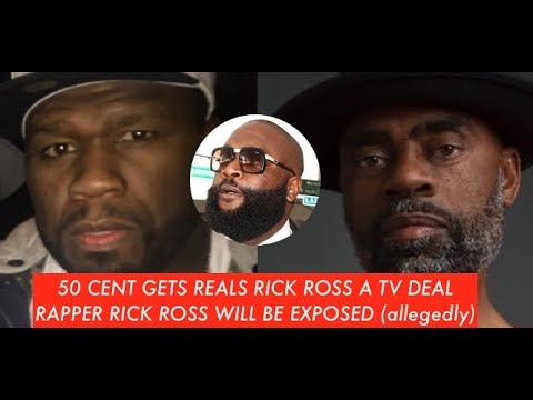 50 Cent GETS THE REAL RICK ROSS a TV Deal To Tell His Story, Rapper Rick Ross Will Be Exposed