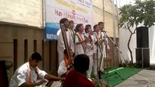 patriotic song ( suraj badle chanda)- by venkateshwar international school