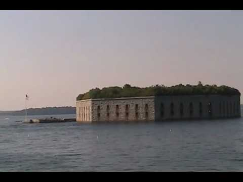 Cruising by Fort Gorges