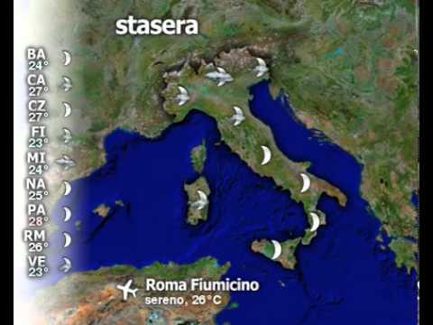 Meteo Italia del 18/08/2010