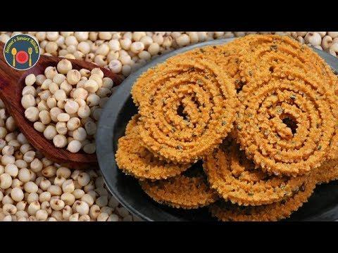 Instant जवार चकली कम तेल में बनाये - Sorghum Chakali - Seemas Smart Kitchen