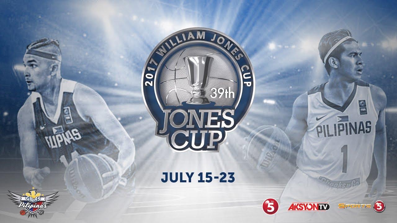 LIVE: Jones Cup 2017: Gilas Pilipinas vs Iran