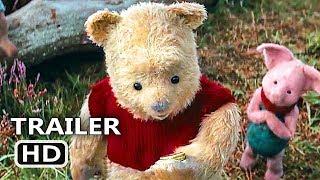 CHRISTOPHER ROBIN Official Trailer # 2 (NEW 2018) Ewan McGregor, Winnie the Pooh Disney Movie HD