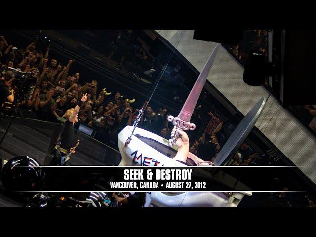 Metallica - Seek & Destroy (Live - Vancouver, Canada) - MetOnTour