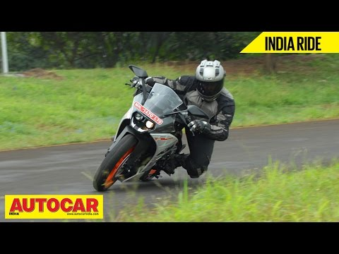 2014 KTM RC200 | India Ride Video Review | Autocar India
