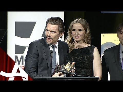 Richard Linklater, Ethan Hawke & Julie Delpy | Movies for Grownups Awards