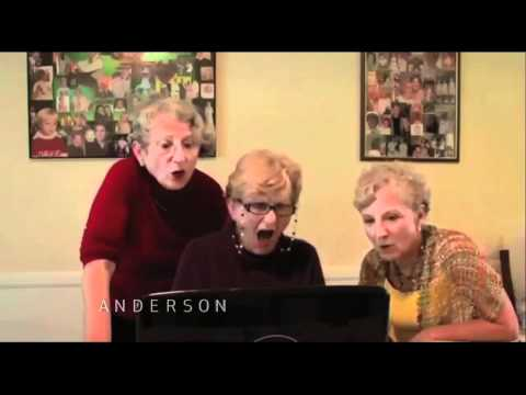 Very Funny! Three Grandmothers Watching Kim Kardashian Sex Tape