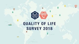 Quality of Life Survey: top 25 cities, 2018