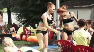 "ПОТРЯСАЮЩАЯ Pole Dance Beach Party 2014. Организаторы Школа ""ПИЛОНиЯ"" и Академия Pole Dance."