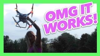 CRASHED DRONE WORKS!! | iJustine