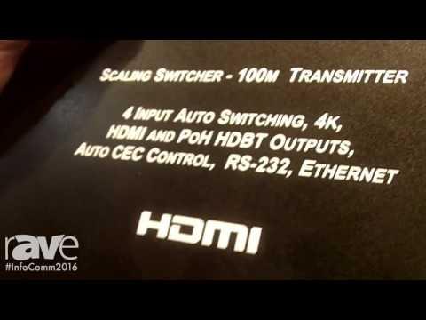 InfoComm 2016: FSR Introduces DV HDSS 41 Tx-Digital Video 4 x 1 Scaling Switcher