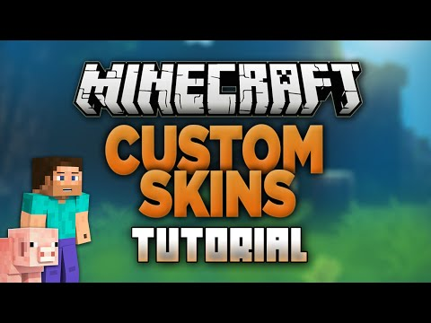 How to Change your Skin in Minecraft 1.13.1! (Custom Skins) (All Versions)