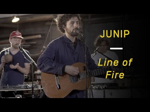 "Junip Perform ""Line of Fire"""