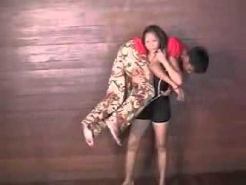 Asian girl ots lift carry youtube