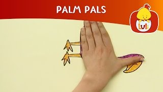 Palm Pals | How to draw snail and pelican? | Cartoon for Children - Luli TV