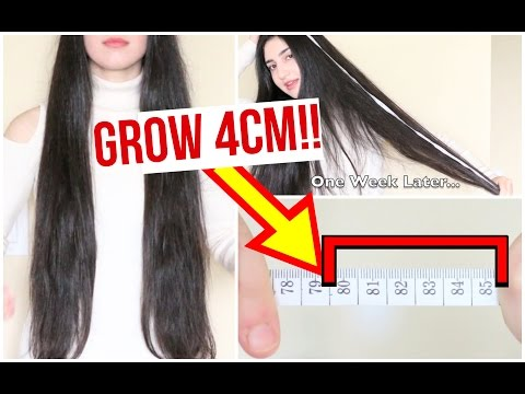 GROW YOUR HAIR FASTER & LONGER IN 1 WEEK (PROOF)!