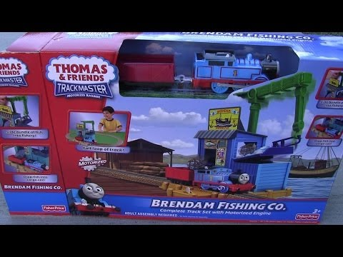 Unboxing Brendam Fishing Co. Trackmaster Playset - Thomas And Friends video