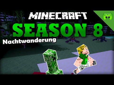 Nachtwanderung «» Minecraft Season 8 # 2 HD