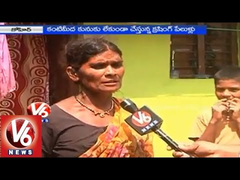 People are in concern with blastings & crushing at quarries - Medak