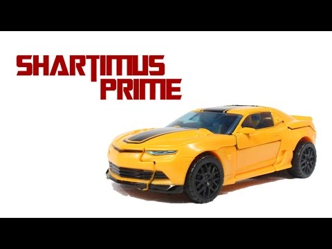 Transformers 4 Age of Extinction Bumblebee 2014 Camaro Concept Deluxe 2 Pack Action Figure Review