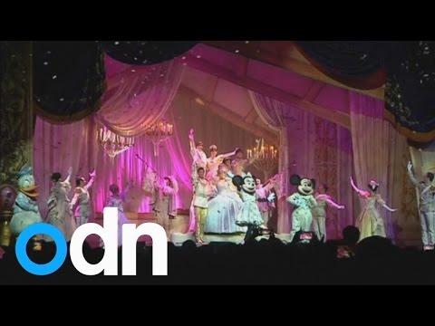Myanmar people enjoy first Walt Disney show in Yangon