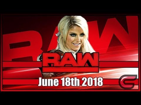 WWE RAW Live Stream June 11th 2018: Live Reaction Conman167 thumbnail