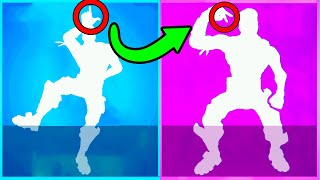 These 10 Fortnite Emotes are EXACTLY THE SAME...here