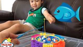 Fish Catching for kids | Fishing Game for Children | Fishing for Kids | Fishing Video for Kids
