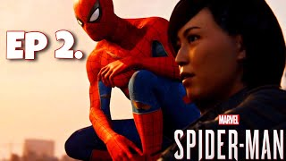 Spider-Man PS4 100% Playthrough: Ep 2 - Spider-Cop Makes His Debut